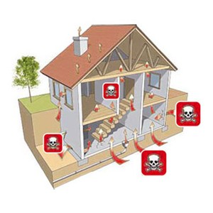 Půjčení měřiče radonu, detektoru radonu